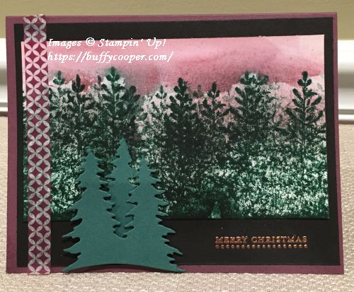 Lovely as a Tree, Teen Tiny Wishes, Stampin' Up!
