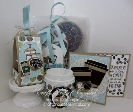 Stampin' Up!, Coffee Cafe', Craft Project Central
