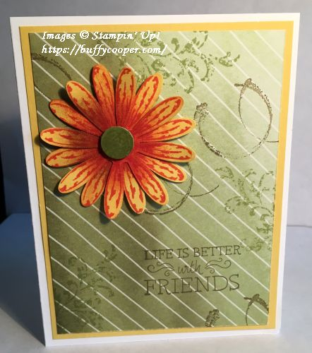 Stampin' Up!, Daisy Delight, TImeless Textures