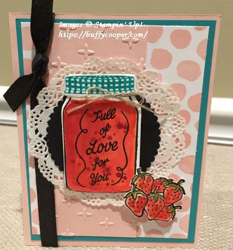 Sharing Sweet Thoughts, Stampin' Up!