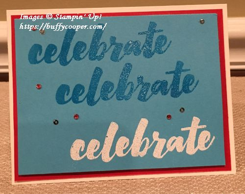 Happy Celebrations, Stampin' Up!