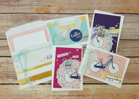 Bike Ride, Stampin' Up, Craft Project Central