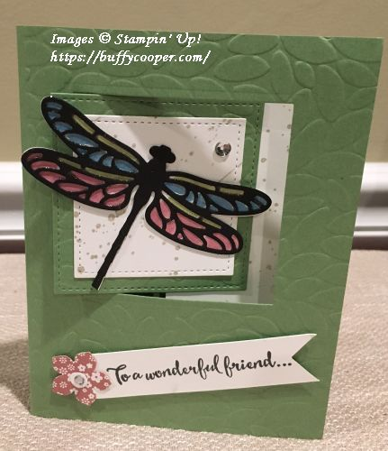 Dragonfly Dreams, Stampin' Up!, Detailed Dragonfly