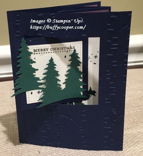 Carols of Christmas, Teeny Tiny Wishes, Father Christmas, Stampin' Up!