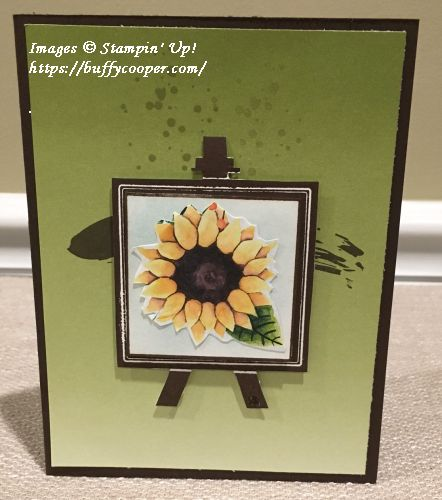 Painter's Palette, Painted Autumn, Stampin' Up!