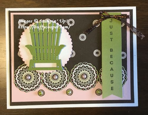 Paisleys & Posies, Stampin' Up!, Vertical Greetings