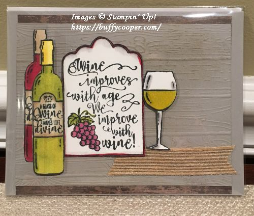 Half Full, Stampin' Up!, Stampin' Blends