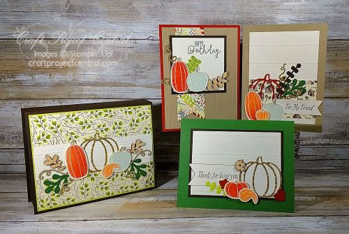 Pick a Pumpkin, Craft Project Central, Stampin' Up!