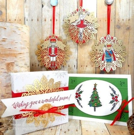 Sugarplum Dreams, Christmas Pines, Stampin' Up! Craft Project Central