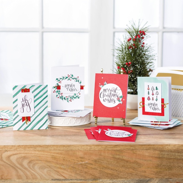 Watercolor Christmas, Stampin' Up!