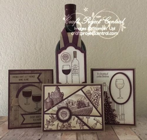Half Full, Tuscan Vineyard, Stampin' Up!, Craft Project Central