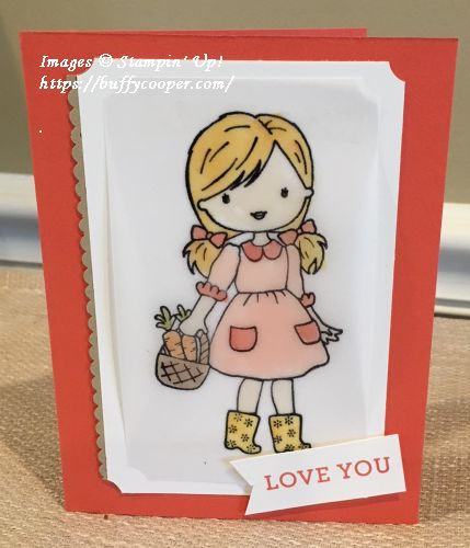 Garden Girl, Stampin' Blends, Stampin' Up!