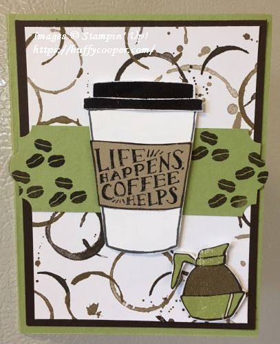 Coffee Cafe', Stampin' Up!