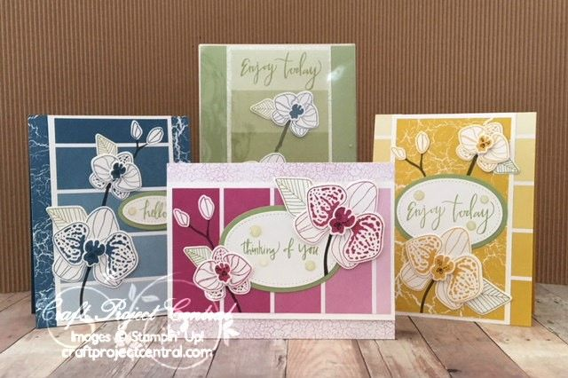 Climbing Orchid, Stampin' Up!, Craft Project Central