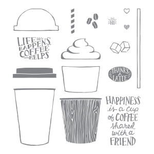 Coffee Cafe, Stampin; Up!