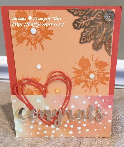 Touches of Texture, Sunshine Wishes, Stampin' Up!, CPC78