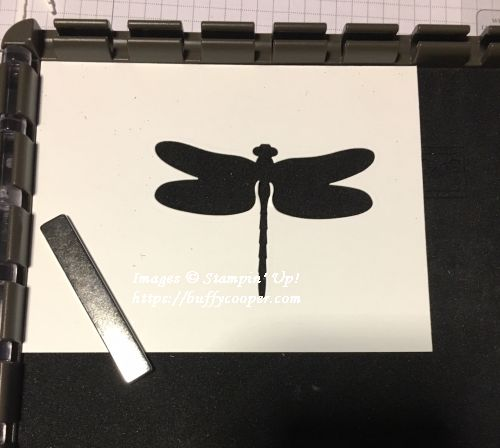 Stampin' Up!, Stamparatus, Dragonfly Dreams, Detailed Dragonfly