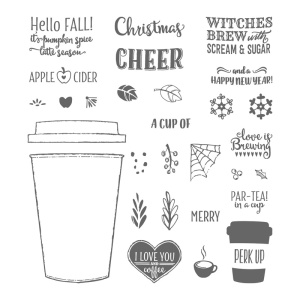 Merry Café, Stampin' Up!