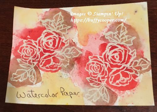 Stampin' Up!, Brusho, Petal Palette