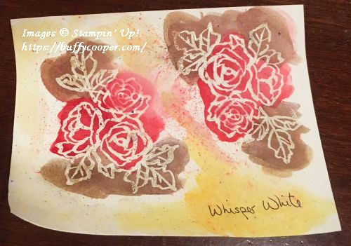 Brusho, Petal Palette, Stampin' Up!