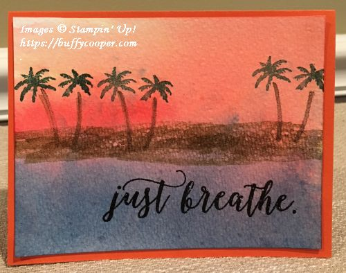Brusho Crystal Colour, Waterfront, Stampin' Up!
