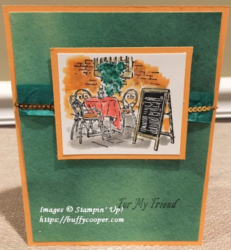 Mediterranean Moments, Stampin' Up!