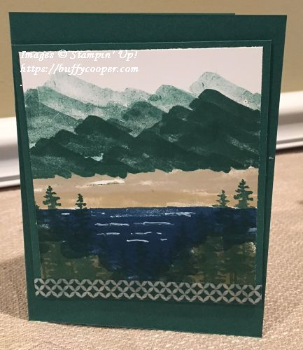 Waterfront, Stampin' Up!