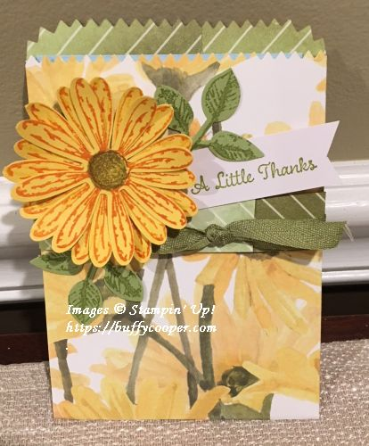 Daisy Delight, Stampin' Up!, Painted Harvest
