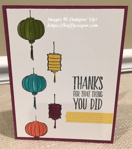 Stampin' Up!, Stampin' Write Markers, Color Me Happy