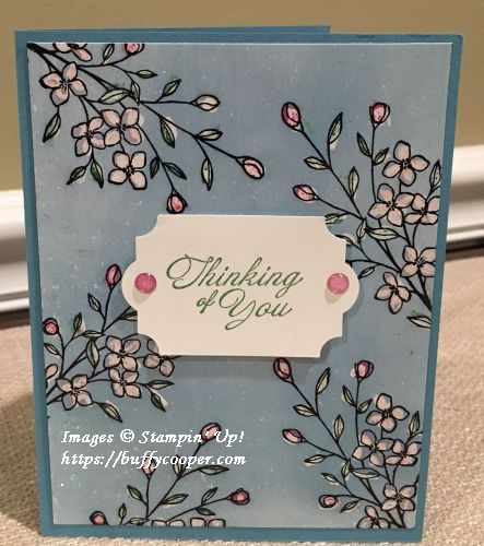 Stampin' Up!, Touches of Texture