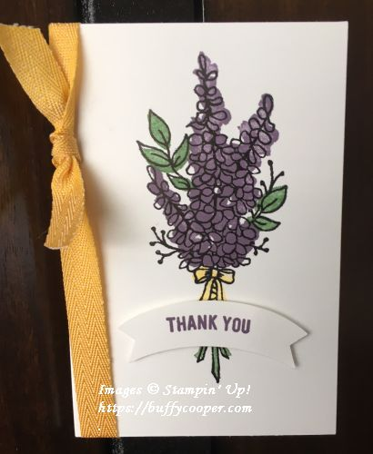 Lovely Lavender, Stampin' Up!, Sale-a-bration