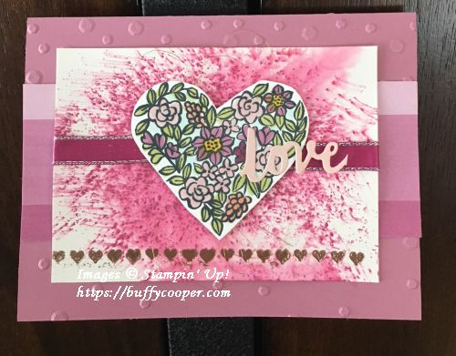 Heart Happiness, Stampin' Up!