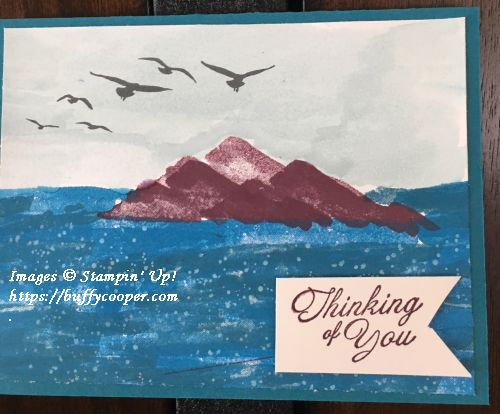 Waterfront, High Tide, Heartfelt Blooms, Stampin' Up!
