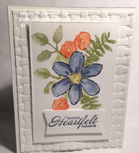 Painted Harvest, Garden in Bloom, Heartfelt Blooms, Stampin' Up!