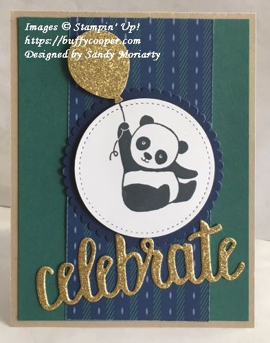 Party Pandas, Stampin' Up!, Sale-a-bration