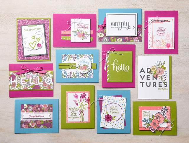 Sweet Soiree, Memories & More, Stampin' Up!