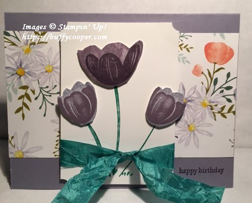 Tranquil Tulips, Teeny Tiny Wishes, Stampin' Up!