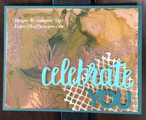 Sea of Textures, Stampin' Up!