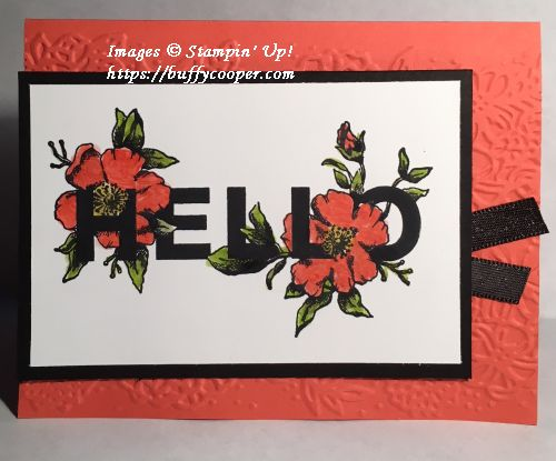 Floral Statements, Stampin' Up!