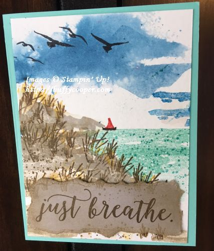 Waterfront, Stampin' Up!, High Tide, Colorful Seasons
