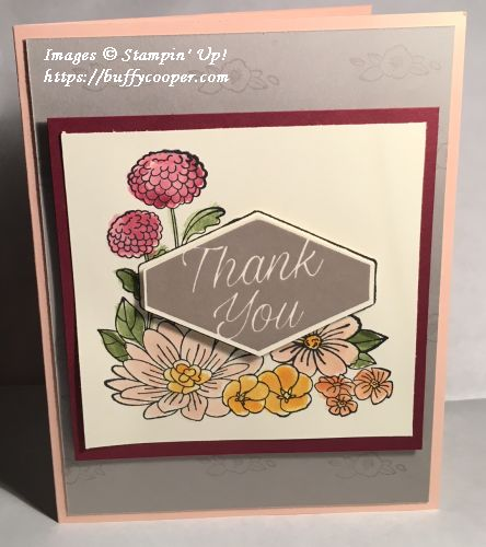 Accented Blooms, Stampin' Up!