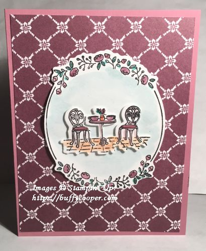 Charming Cafe, Stampin' Up!