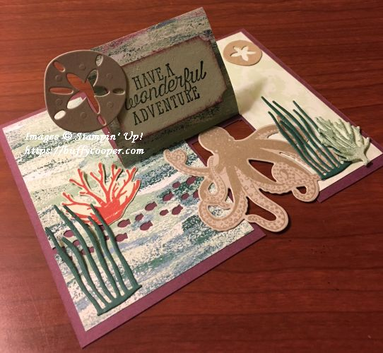 Sea of Textures, Tranquil Textures, Stampin' Up!