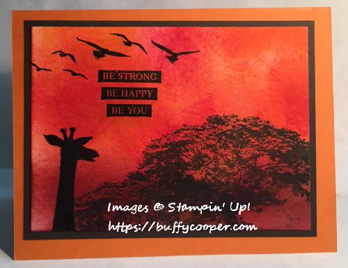 Paper Pumpkin, Animal Expedition, Stampin' Up!