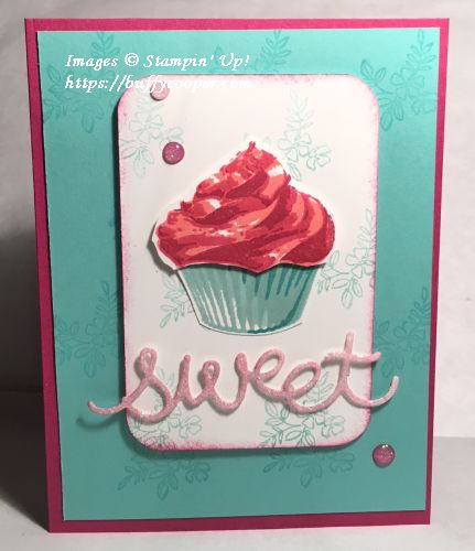 Sweet Cupcakes, Make a Difference, Stampin' Up!