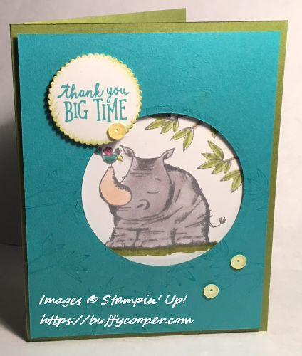 Animal Expedition, Paper Pumpkin, Stampin' Up!