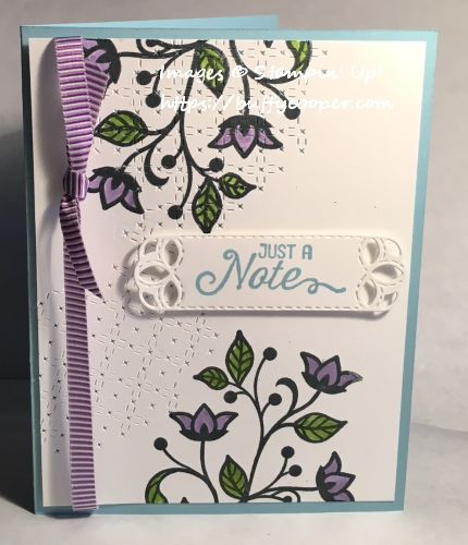 Flourishing Phrases, Stampin' Up!