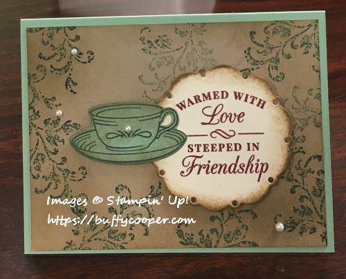 Time for Tea, Stampin' Up!, Timeless Textures