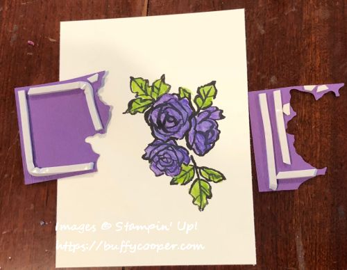 Set Back Stamping, Stampin' Up!