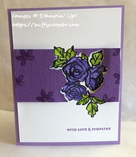 Set Back Stamping, Stampin' Up!, Petal Palette